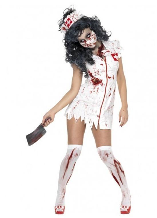 Zombie Nurse Womens Halloween Costume
