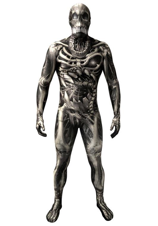 Morphsuits Costume Skull and Bones