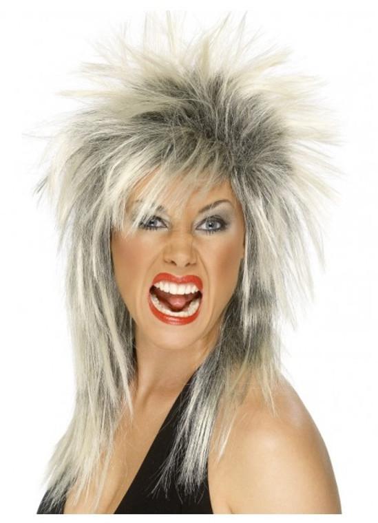 80s Rock Diva Wig