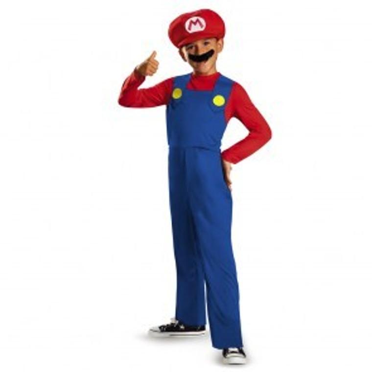 Mario Childs Costume Super Mario Bros