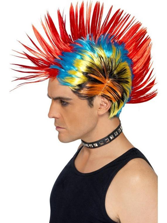 Street Punk 80s Wig