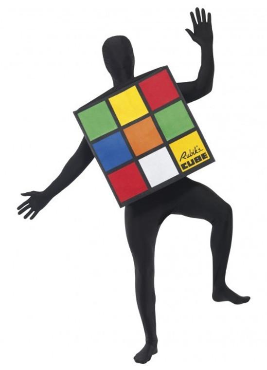 Rubik's Cube Unisex Costume