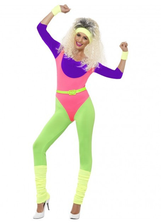 1980s Workout Costume