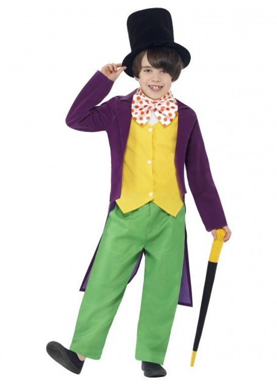 Willy Wonka Childs Costume