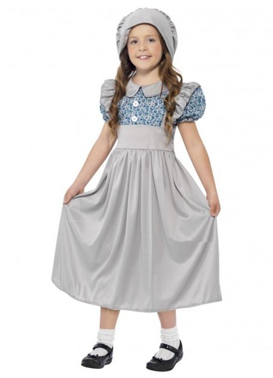 Victorian School Girl Pioneer Costume