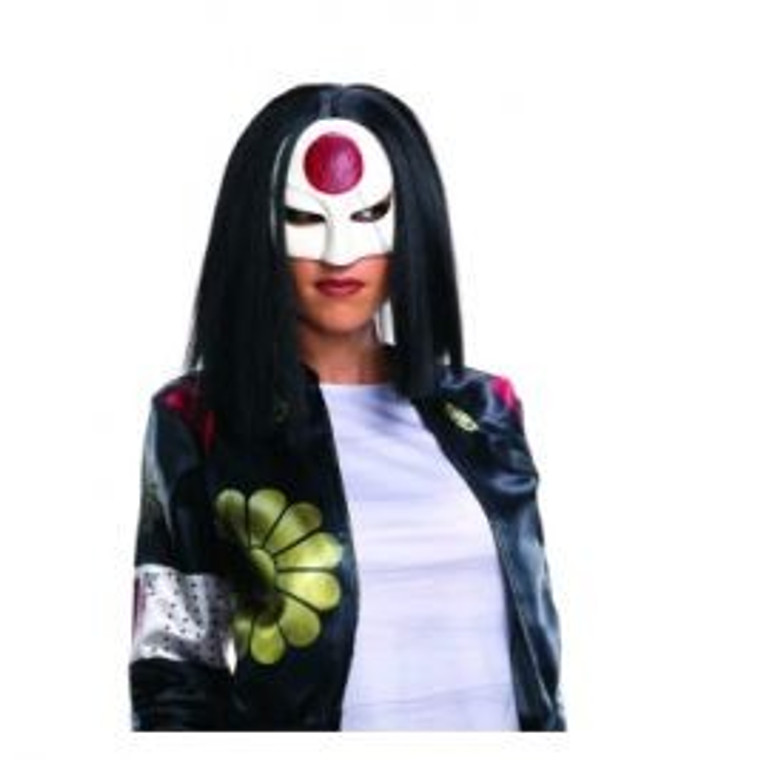 Katana Adult Suicide Squad Wig