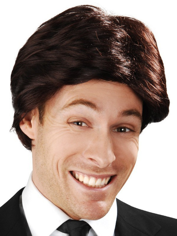 Anchorman Brown Costume Wig