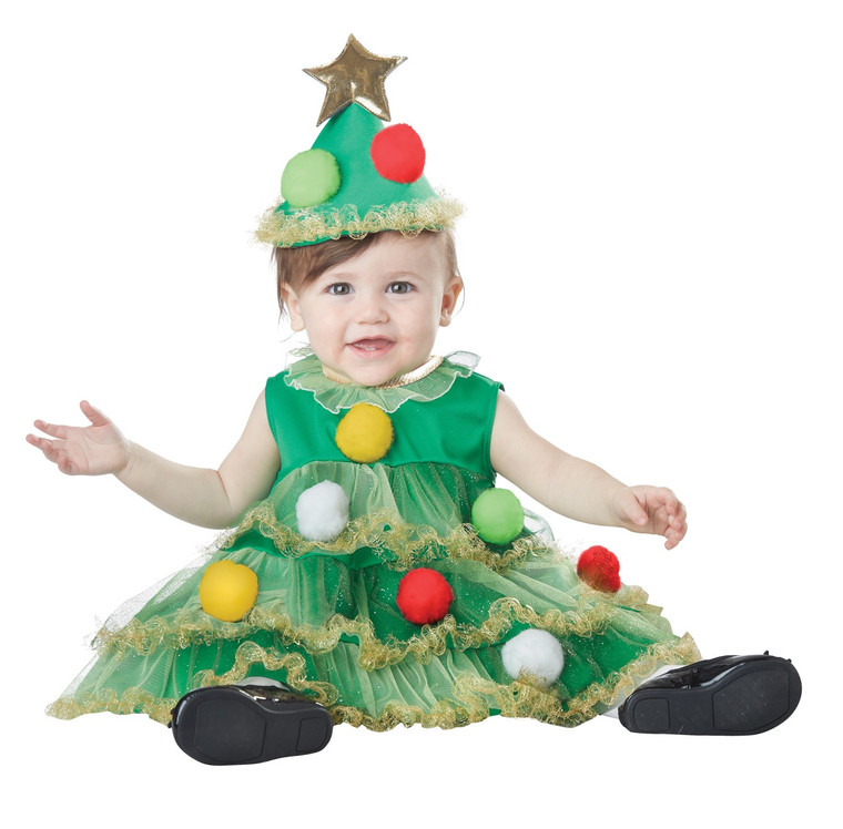 Lil Christmas Tree Infant Costume