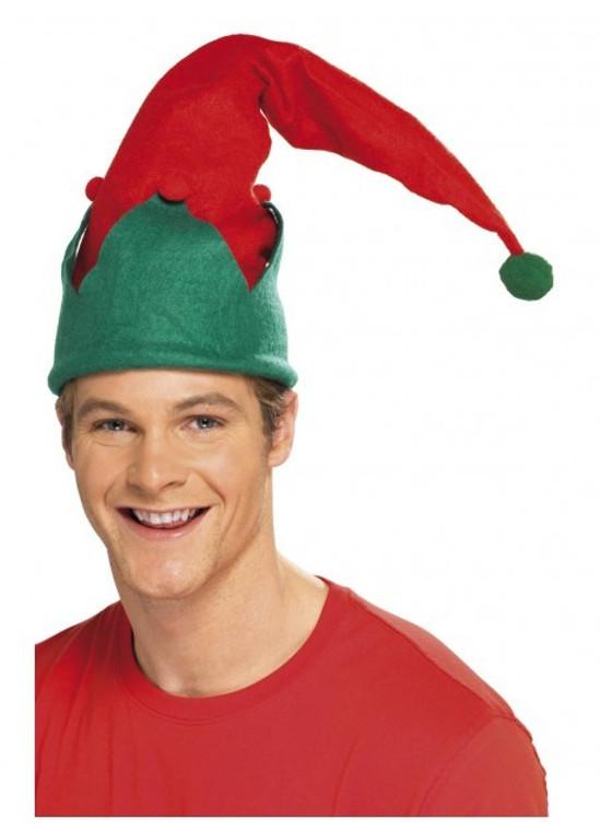 Elf Hat With Pom Pom