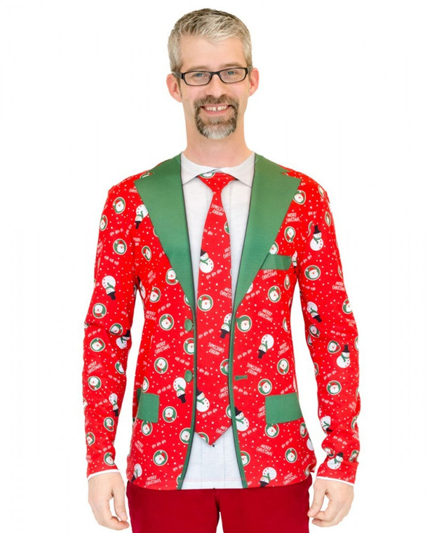 Ugly Christmas Suit T-Shirt