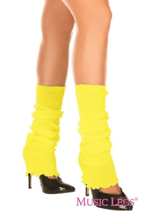 Neon Yellow Leg Warmer