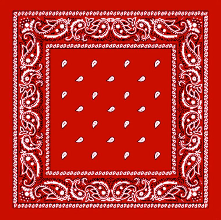 COWBOY SCARF RED - Pirate Bandana