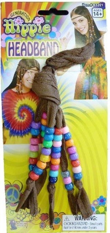 Hippie Headband With Beads