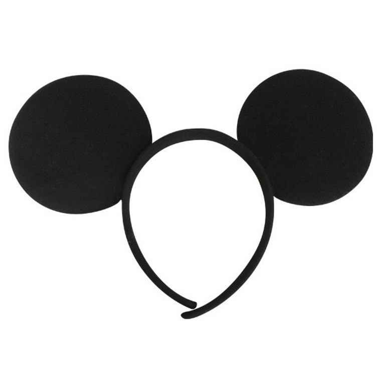 Mouse Ears Headband Black