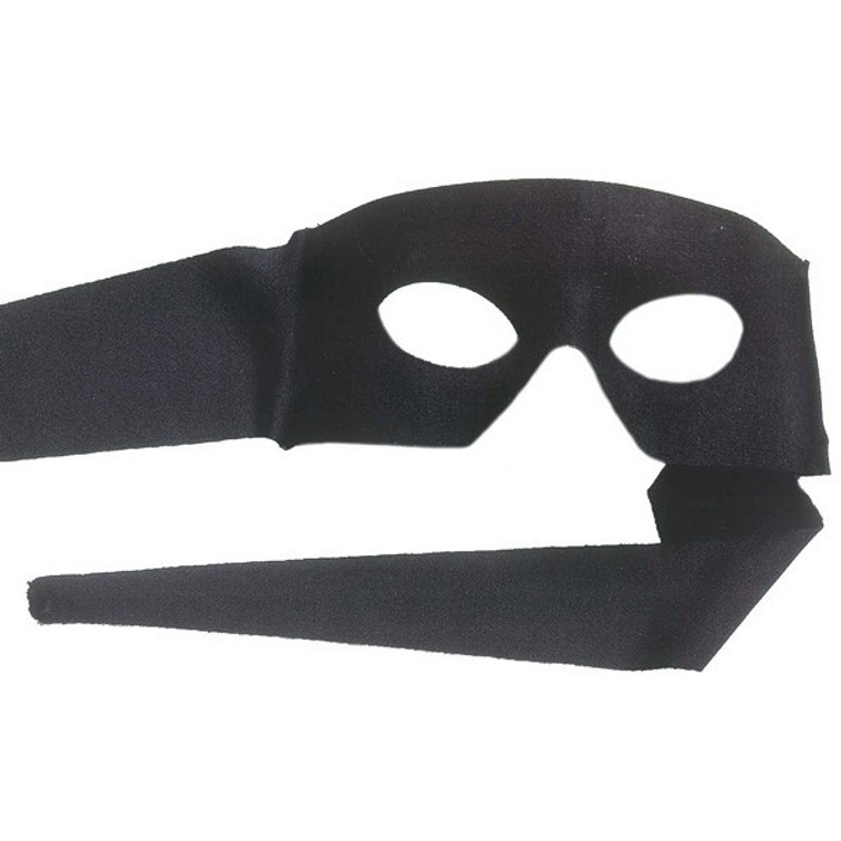 Pimpernel Black Mask With Ties