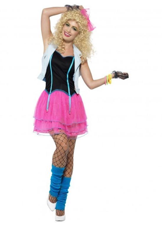 Wild Girl 1980s Costume