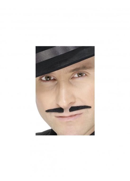 Black Thin Moustache