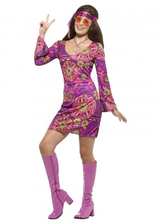 Woodstock Hippie Chick Costume