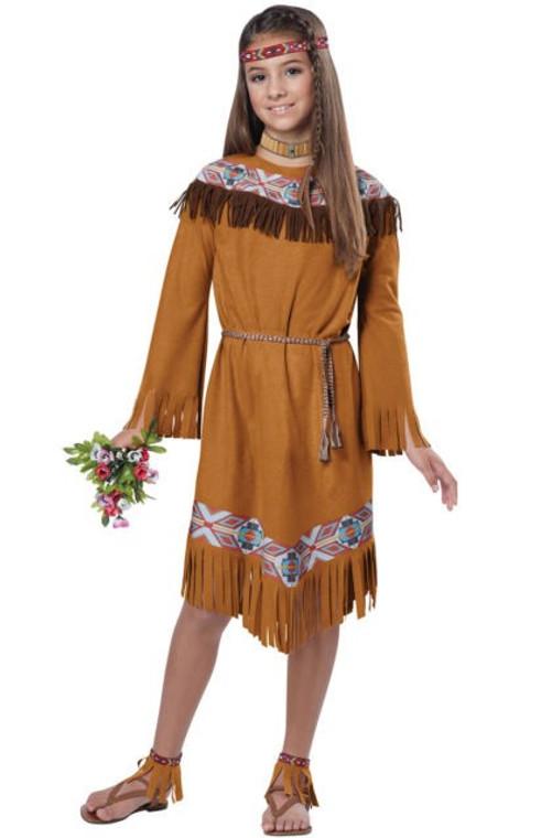 Indian Girl Classic Costume