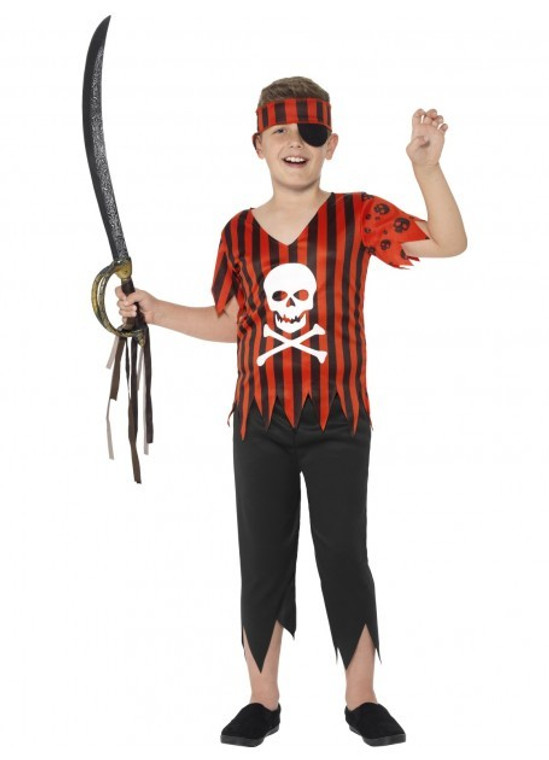 Jolly Roger Boys Pirate Costume