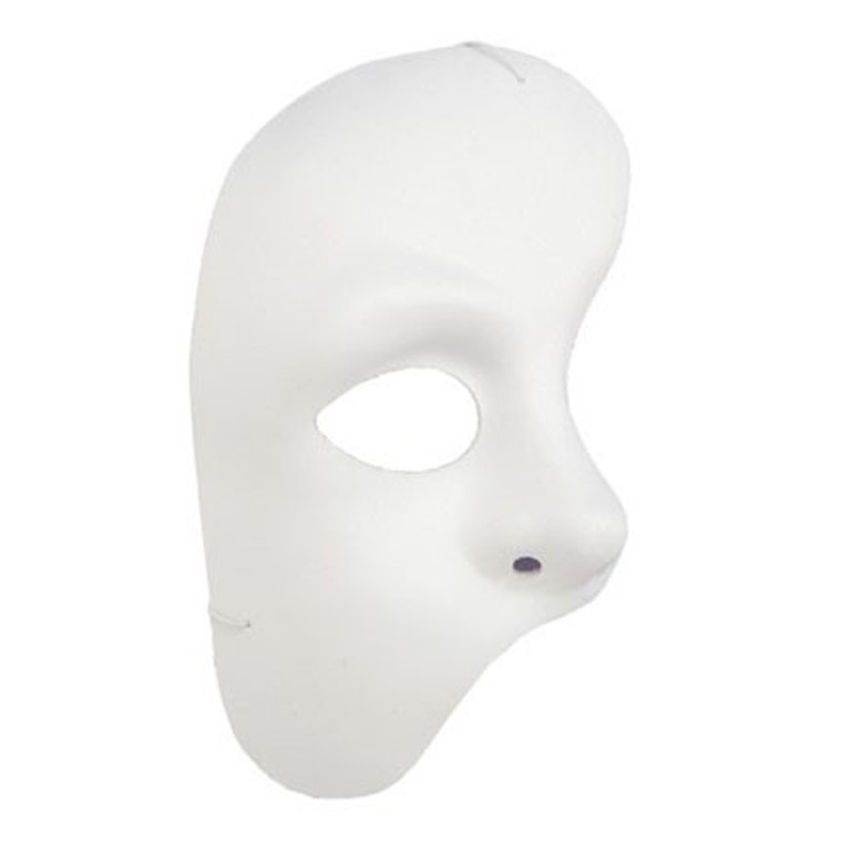 Phantom Of The Opera Mask -White