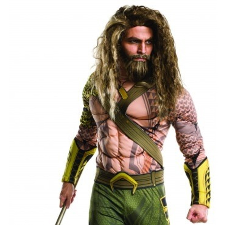Aquaman Deluxe Wig - Beard And Moustache