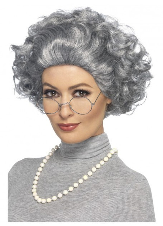 Grey Granny Wig Kit