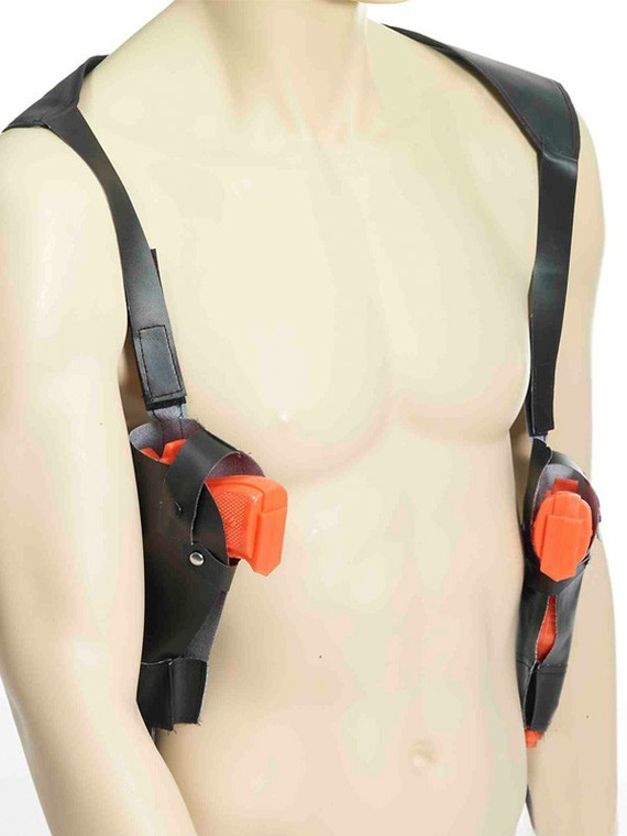 Double Shoulder Holster And Guns