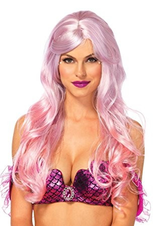 Pink Two Toned Mermaid Ombre Wig