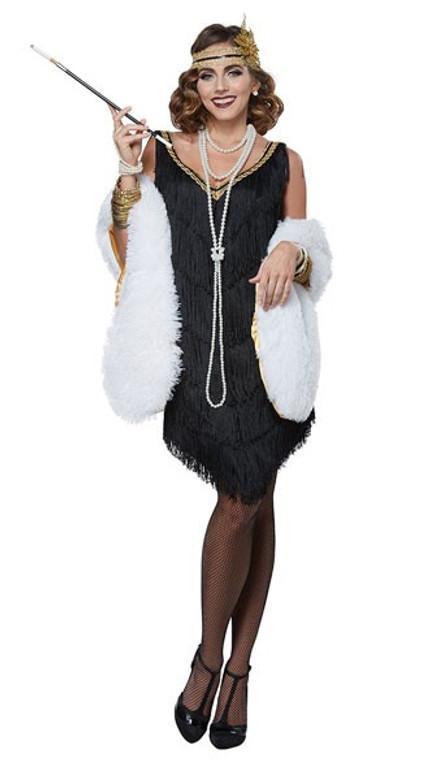 1920s Fabulous Flapper Deluxe Costume
