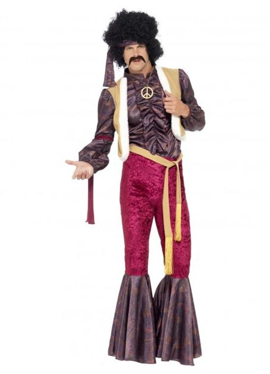 Psychedelic Rocker Costume