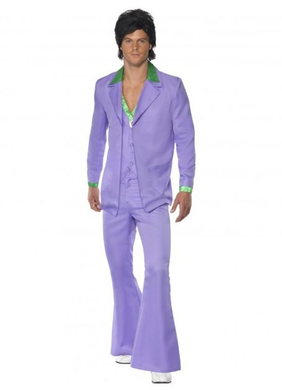 1970's Lavender Men's Suit