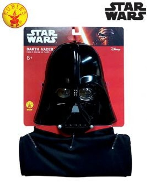 Darth Vader Mask and Cape - Child