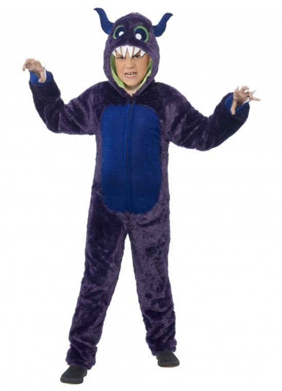 Monster Purple Child Costume