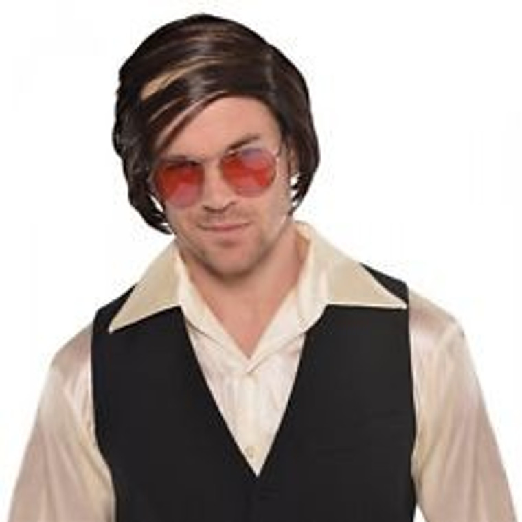 Comb Over Costume Wig