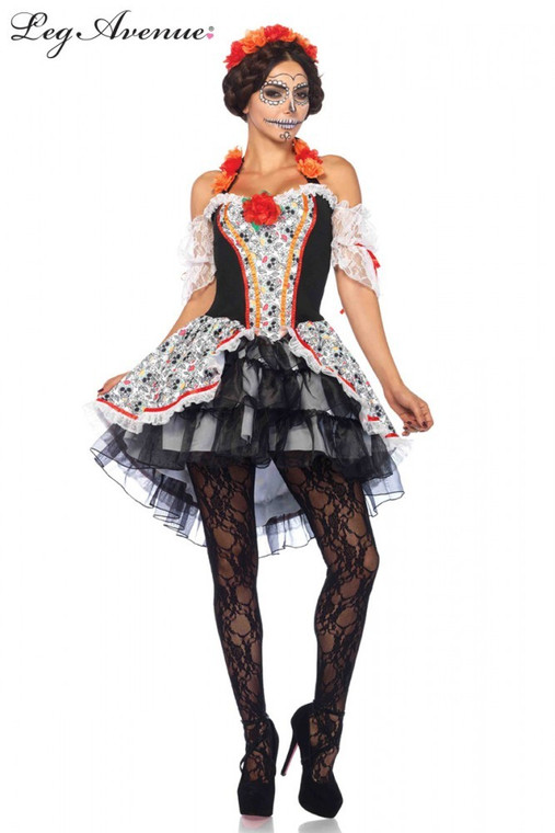 Sugar Skull Senorita Costume