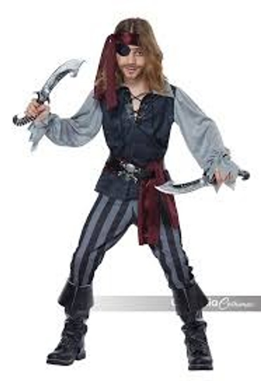 Sea Scoundrel Boys Pirate Costume