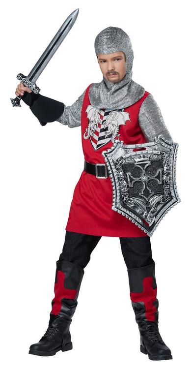 Brave Knight Boys Costume