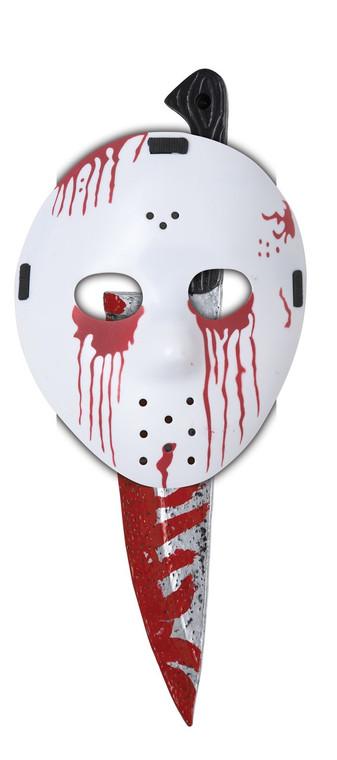 Slasher Hockey Child Mask and Knife
