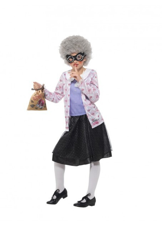 Gangsta Granny Girl's Costume