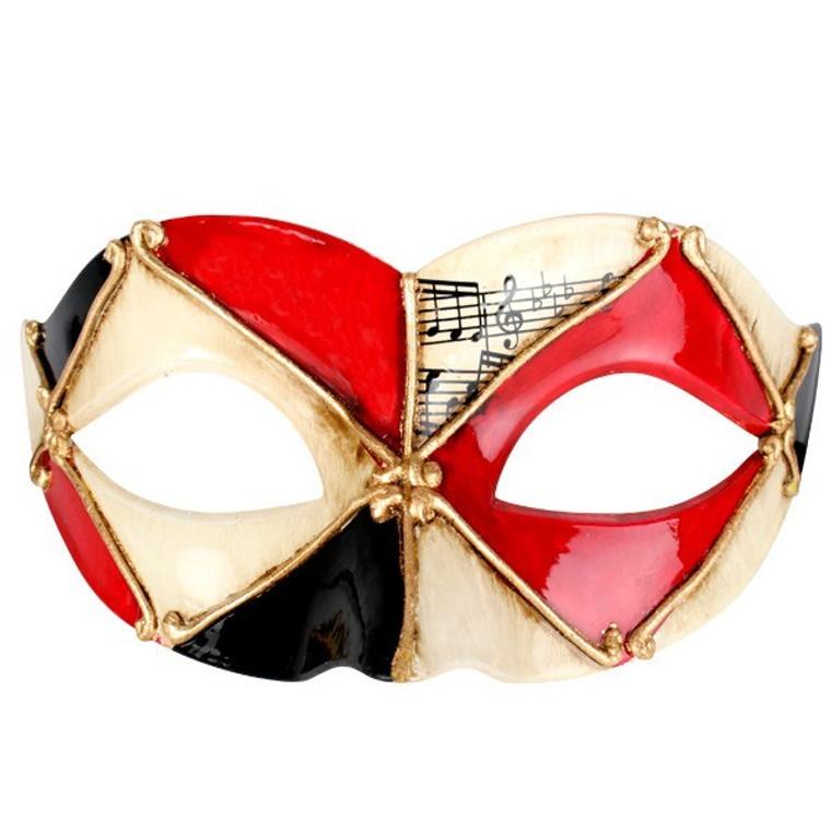Red Pietro Masquerade Eye Mask