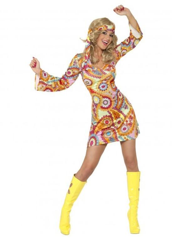 1960s Hippy Chick Costume