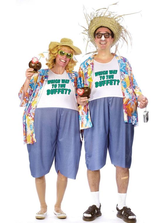 Tacky Traveler Adult unisex Costume