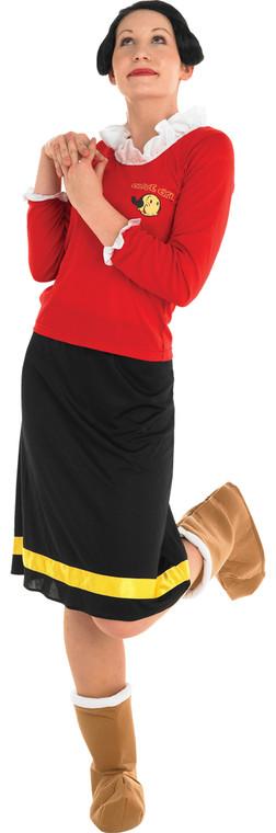 Popeye - Olive Oyl Deluxe Costume