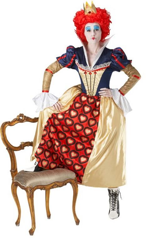 Alice in Wonderland Red Queen Womens Costume