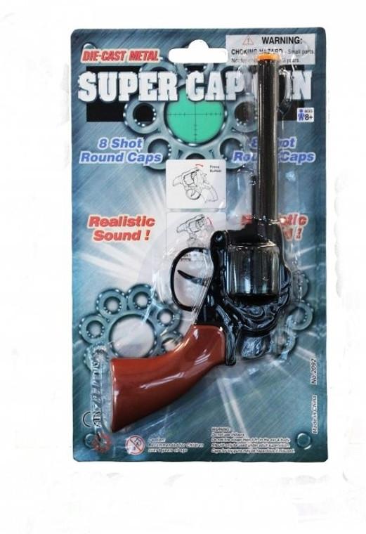 Die Cast Metal Super Cap Gun