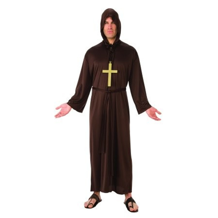 Monk Robe Mens Costume