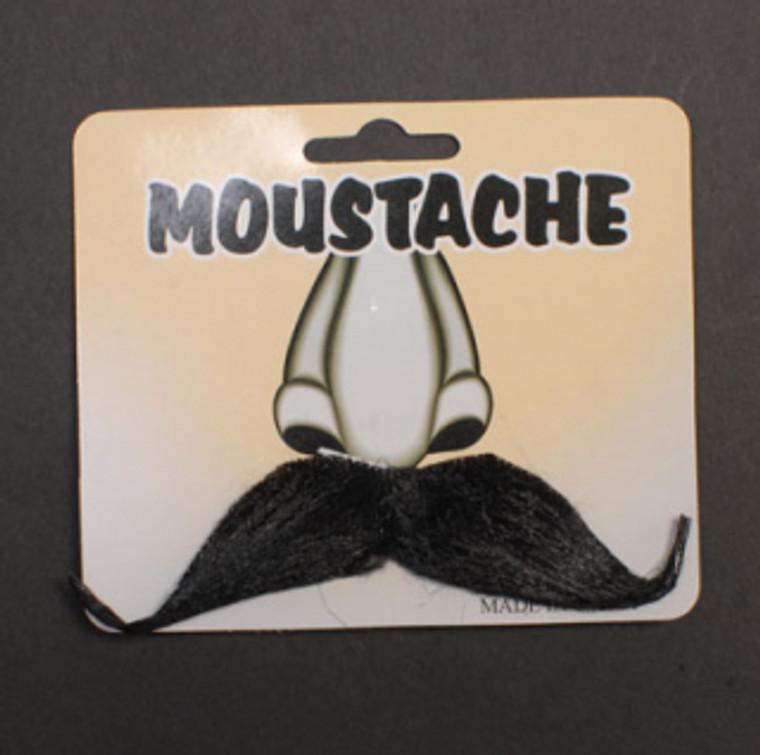 Black Mario Style Moustache