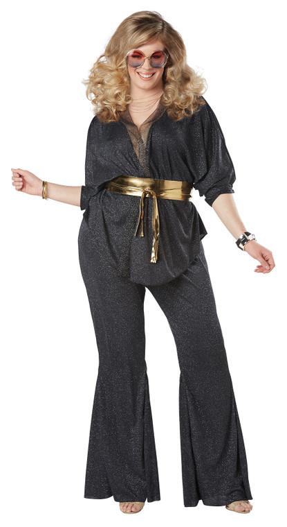 Disco Dazzler Womens Costume Plus