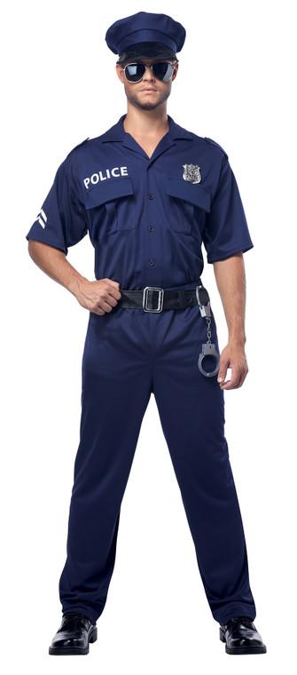 Police Mens Plus Size Costume